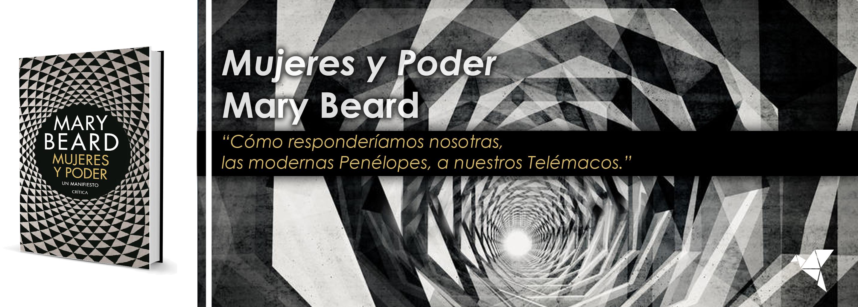 Mujeres y poder, de Mary Beard