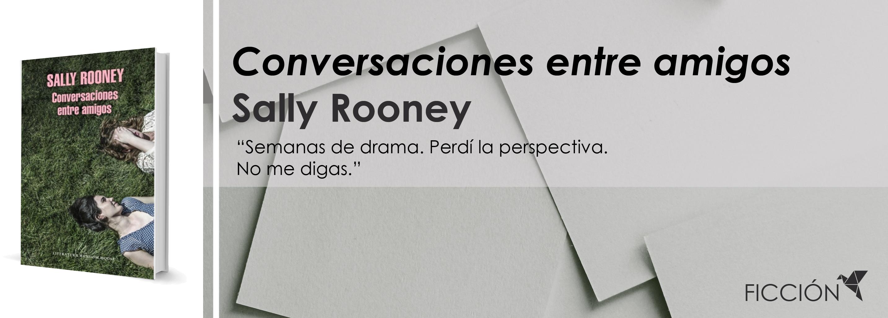 Conversaciones entre amigos, de Sally Rooney